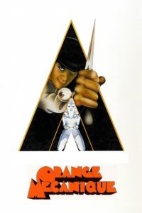 """Affiche du film """"Orange mécanique"""""""