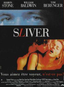 """Affiche du film """"Sliver"""""""