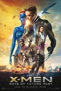 """Affiche du film """"X-Men : Days of future past"""""""