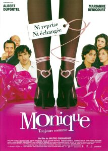 """Affiche du film """"Monique"""""""