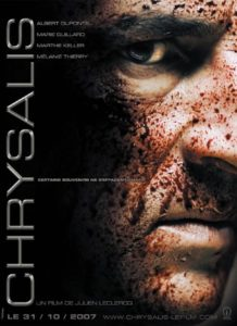 "Affiche du film ""Chrysalis"""