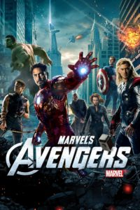 "Affiche du film ""Avengers"""