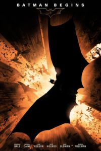 "Affiche du film ""Batman Begins"""