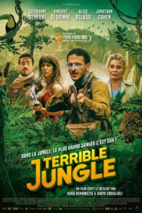 "Affiche du film ""Terrible jungle"""
